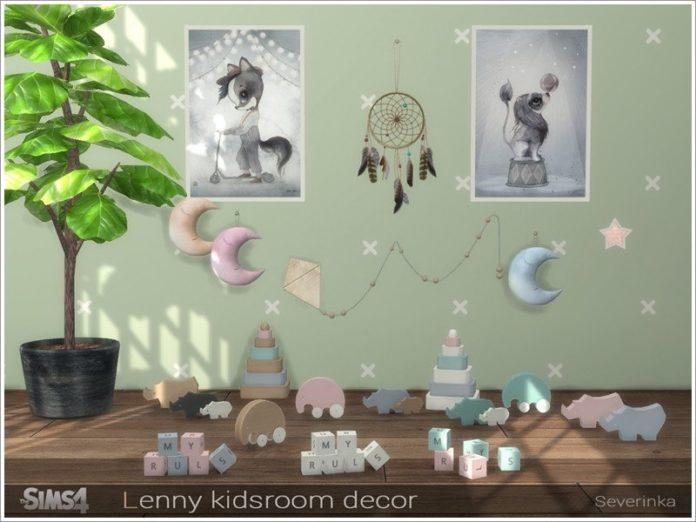 Декорации для детской от Severinka_ для Sims 4