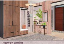 Прихожая Lumina от ung999 для Sims 4