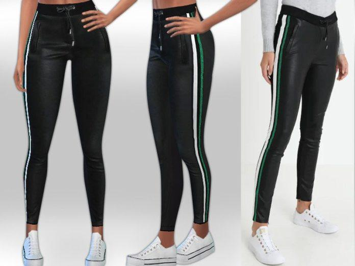 Спортивные штаны от Saliwa для Sims 4