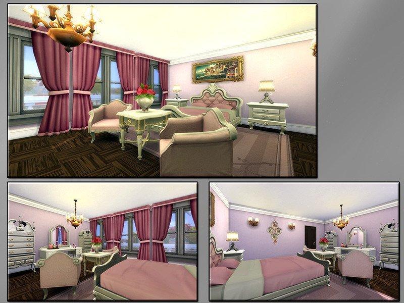 """Вилла """"Маленькие цветы"""" от matomibotaki для Sims 4"""