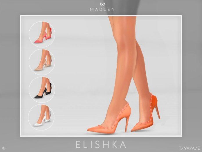 Туфли Elishka от MJ95 для Sims 4