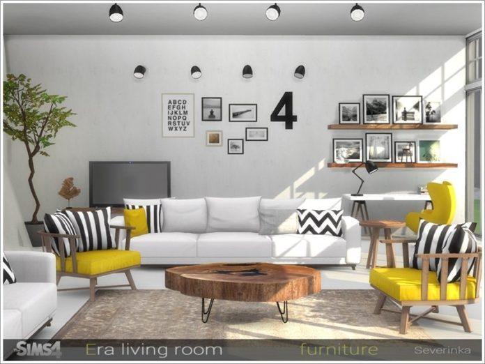 Гостиная Эра от Severinka_ для Sims 4