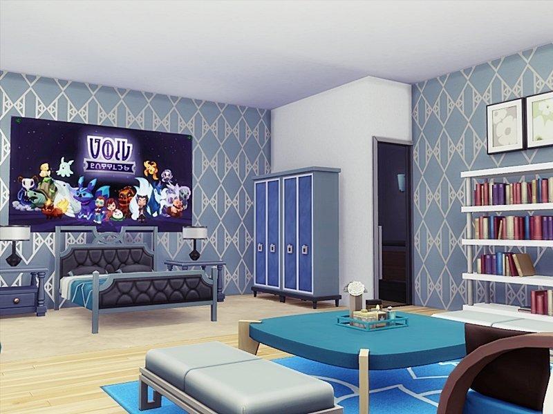 Особняк Ольга от Danuta720 для Sims 4