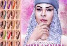 """Брови """"Сара"""" от KatVerseCC для Sims 4"""