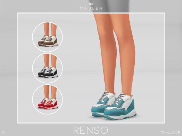 Кроссовки Rensoот MJ95 для Sims 4