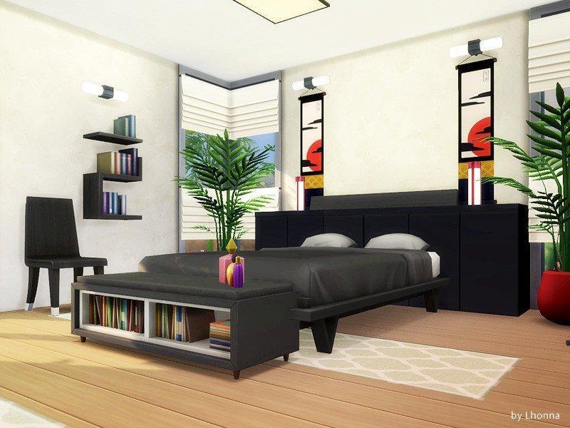 """Дом """"Микро Дзен"""" от Lhonna для Sims 4"""