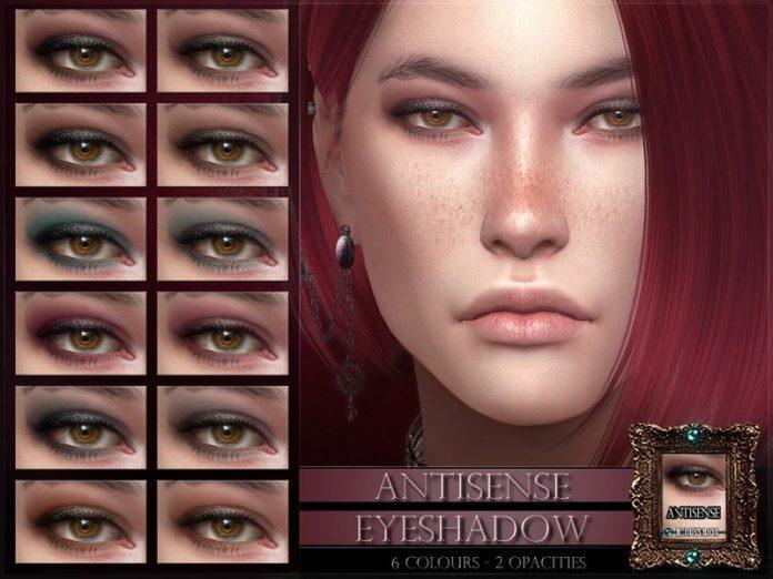 Тени для век Antisense от RemusSirion для Sims 4