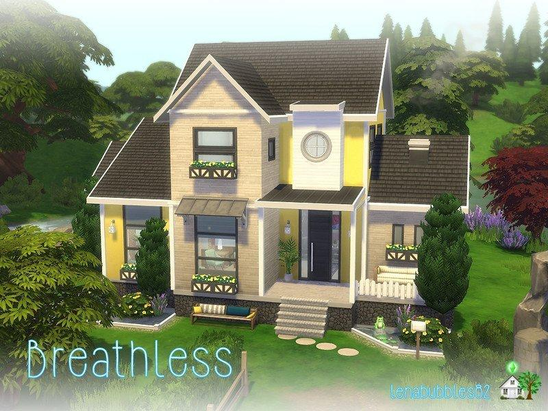 Дом Breathless от lenabubbles82 для Sims 4