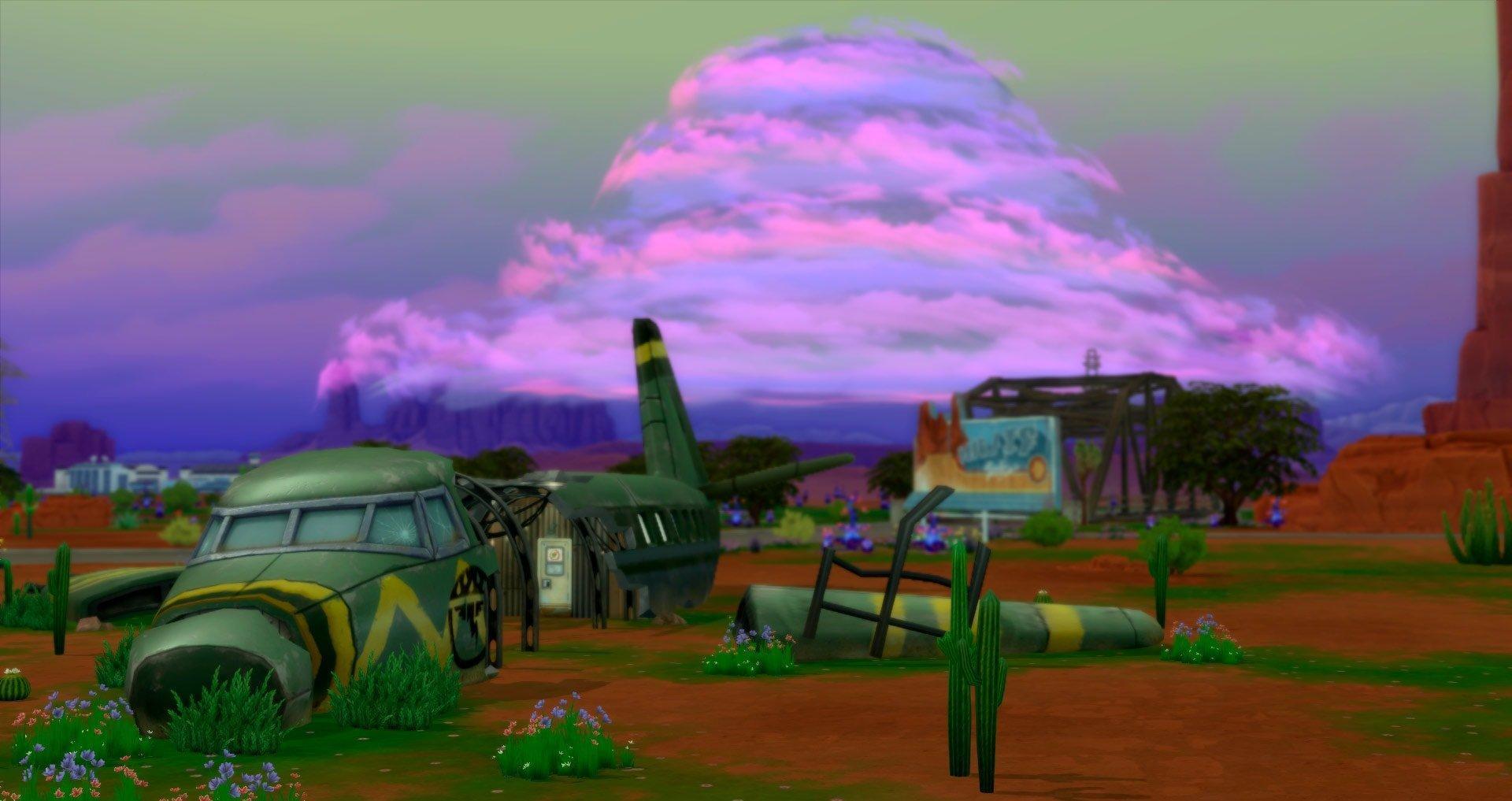 Обзор дополнения «The Sims 4: Стрейнджервиль»