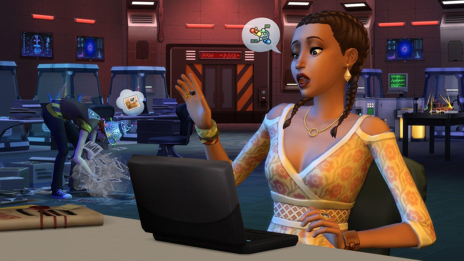 The Sims 4: Стрейнджервиль