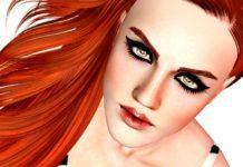 Интенсивная подводка для глаз от LuxySims3 для Симс 3