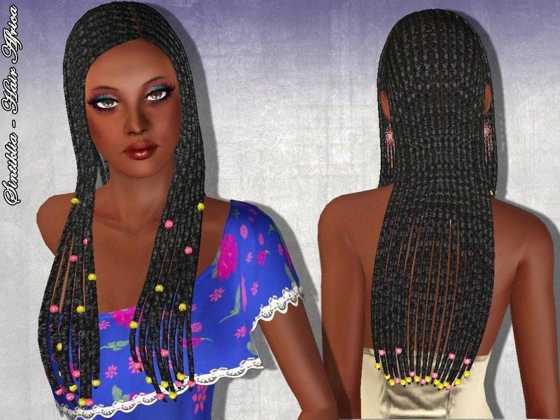 Африканские косички от SintikliaSims для Симс 3