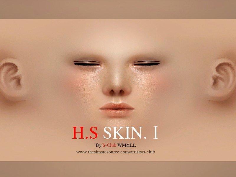 Скин HS I от S-Club для Sims 4