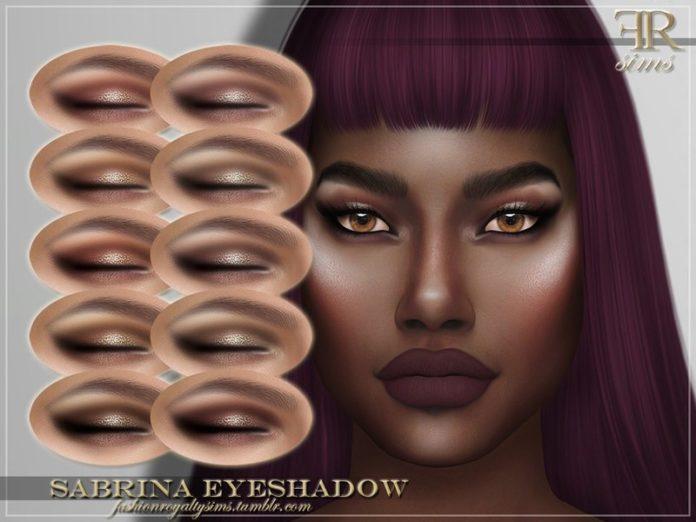 Тени для век Sabrina от FashionRoyaltySims для Sims 4