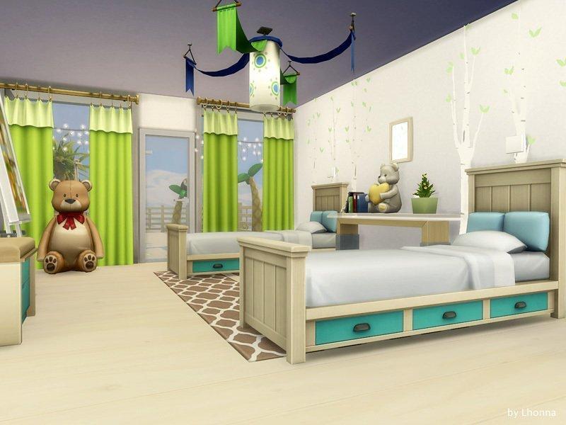 Эко-вилла от Lhonna для Sims 4