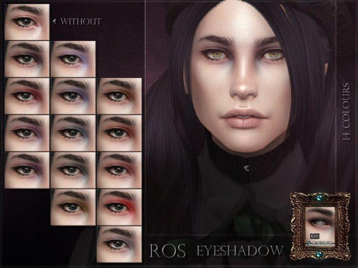 Тени для век ROS от RemusSirion для Sims 4