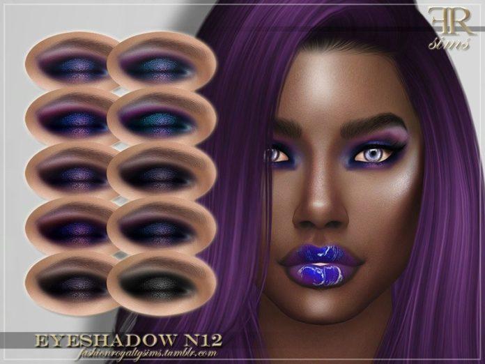 Голографические тени от FashionRoyaltySims для Sims 4