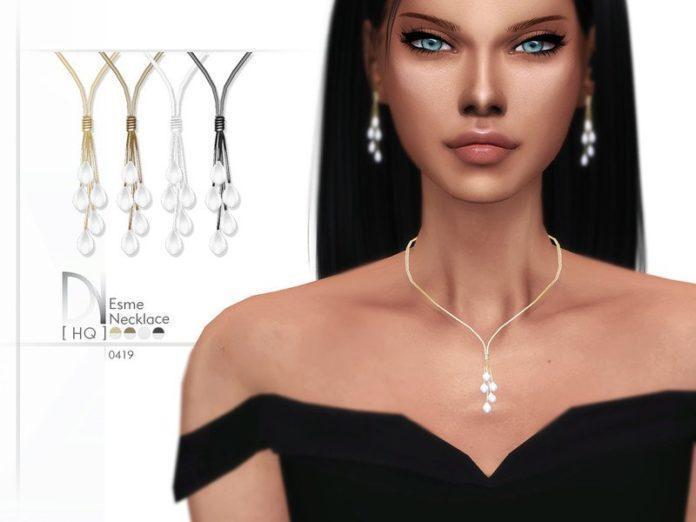 Подвеска Esme от DarkNighTt для Sims 4