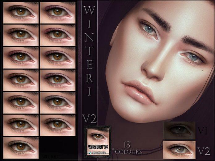 Тени для век Winteri от Remus Sirion для Sims 4