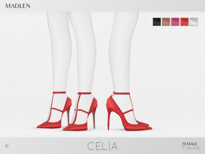 Туфли Celia от MJ95 для Sims 4