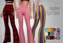 Брюки-клёш от Trillyke для Sims 4