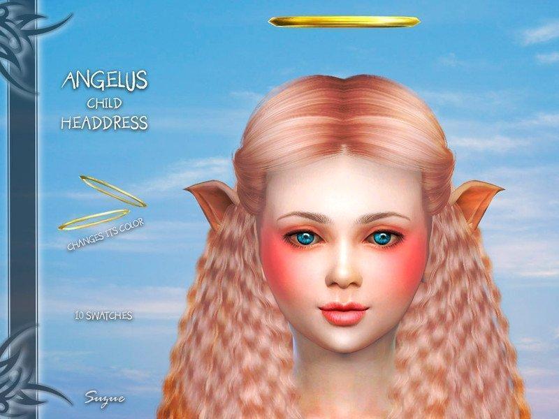 Ангельский нимб от Suzue для Sims 4