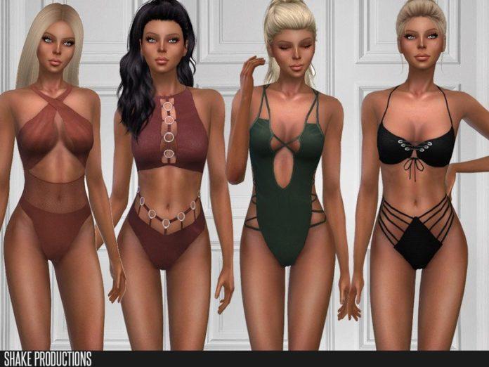 Набор купальников от ShakeProductions для Sims 4
