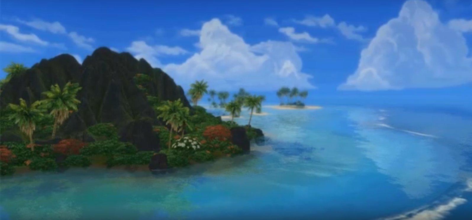 The Sims 4: Жизнь на острове: облака на горизонте