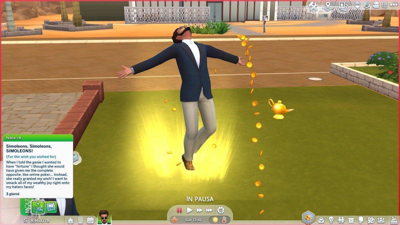 Мод на добавление джина в игру от Nyx для Sims 4
