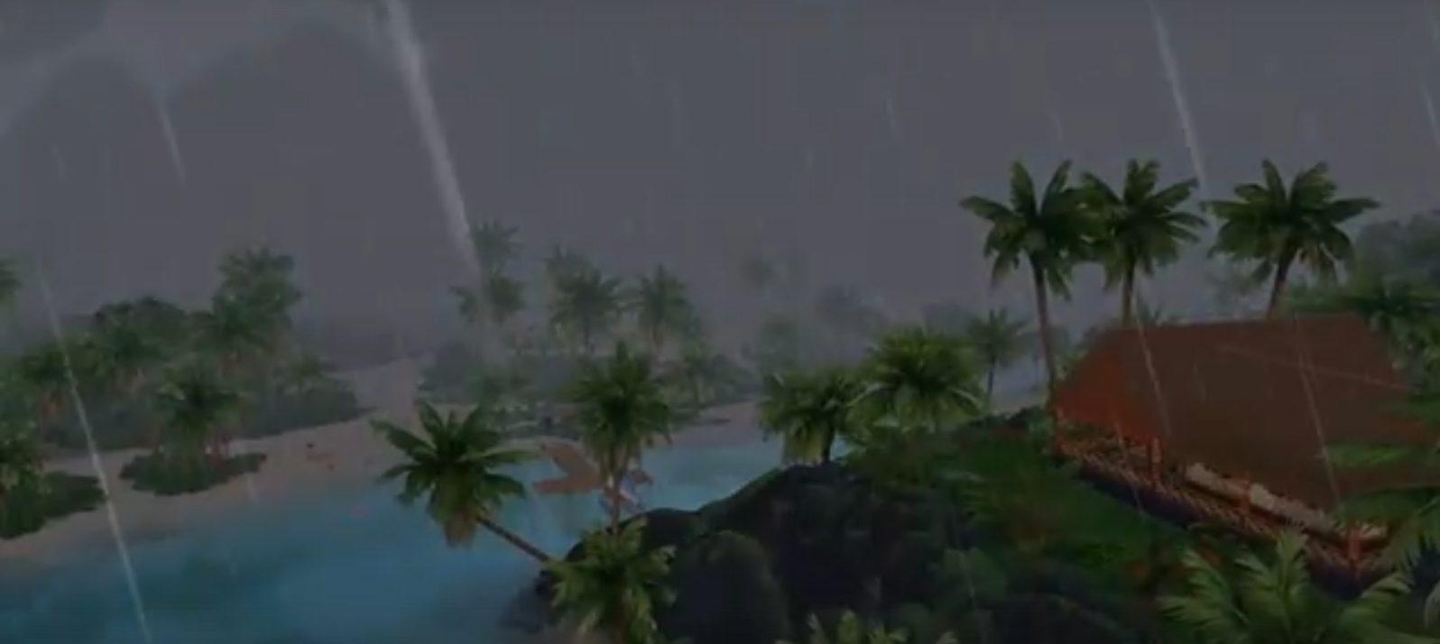 The Sims 4: Жизнь на острове: тропический муссон