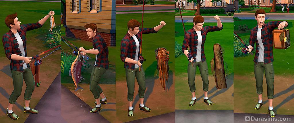«The Sims 4: Жизнь на острове». Обновление 1.52.100 рыбалка
