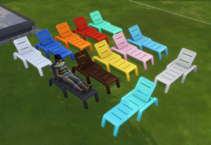 «The Sims 4: Жизнь на острове». Обновление 1.52.100 шезлонги