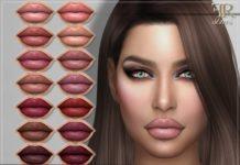 Губная помада №80 от FashionRoyaltySims для Sims 4