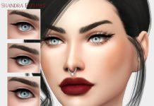 Подводка Shandra от MSQSIMS для Sims 4