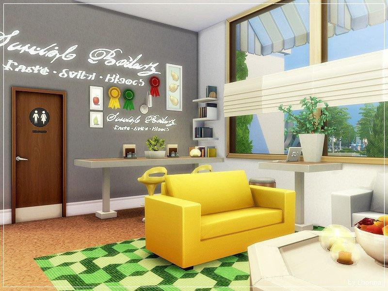 "Бар ""Three Fruits"" от Lhonna для Sims 4"