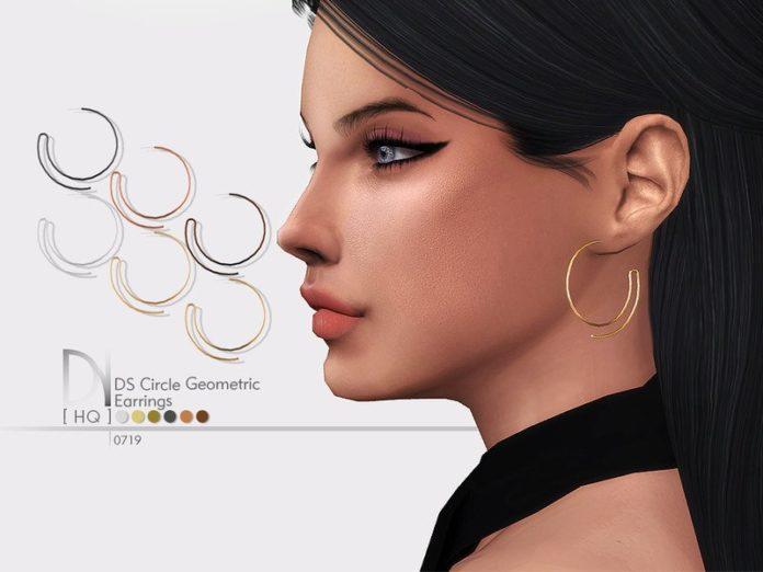 Полукольца от DarkNighTt для Sims 4
