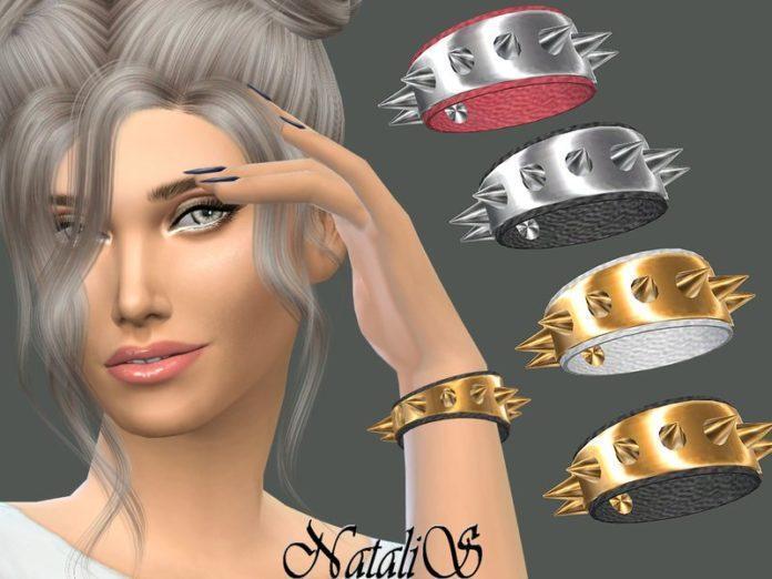 Браслет с шипами от NataliS для Sims 4