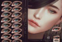 Тени для век Salicyl от RemusSirion для Sims 4