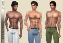 Мужские летние шорты от Birba32 для Sims 4