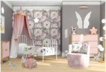 """Детская комната """"Ангел"""" от Severinka_ для Sims 4"""