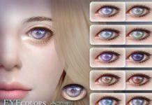 Глаза 201902 от S-Club для Sims 4