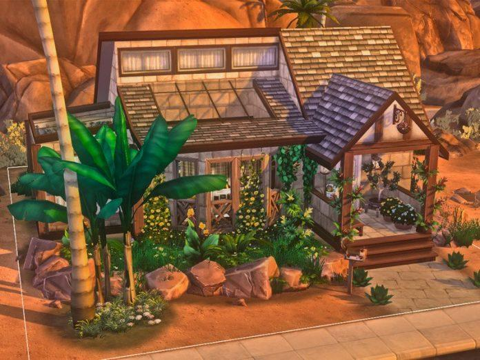 Богемный дом Avery от iLinny для Sims 4