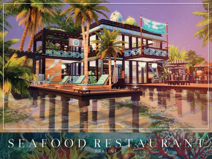 Ресторан морепродуктов от Pralinesims для Sims 4