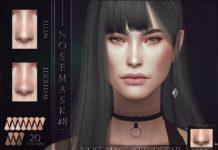 Набор скинов для носа от RemusSirion для Sims 4