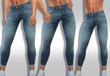 Мужские джинсы от Saliwa для Sims 4