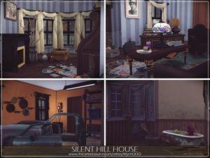 Дом Silent Hill от MychQQQ для Sims 4
