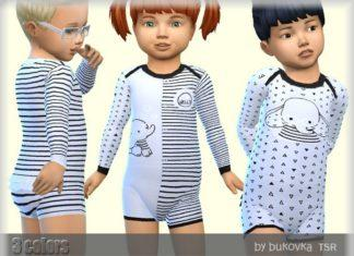 Комбинезоны для малышей от Bukovka для Sims 4