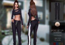 Спортивный костюм от busra-tr для Sims 4