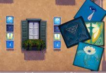 Настенные плитки «Богема» от evi для Sims 4