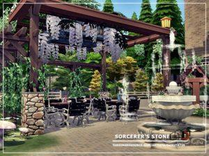 Кафе «Чародейский камень» от Danuta720 для Sims 4